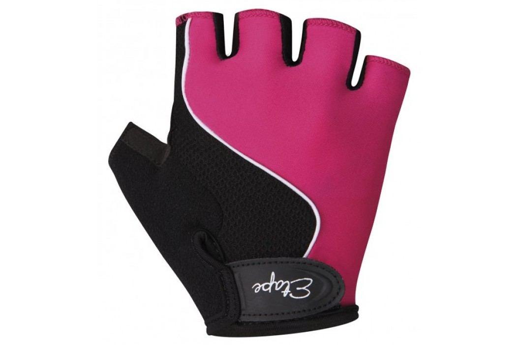Etape rękawiczki kolarskie dziecięce Simple 5-6 pink Krótkie rękawiczki