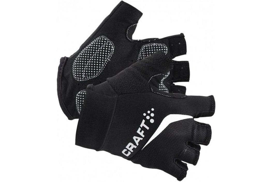 Craft Rękawiczki rowerowe  Classic Black XS Krótkie rękawiczki