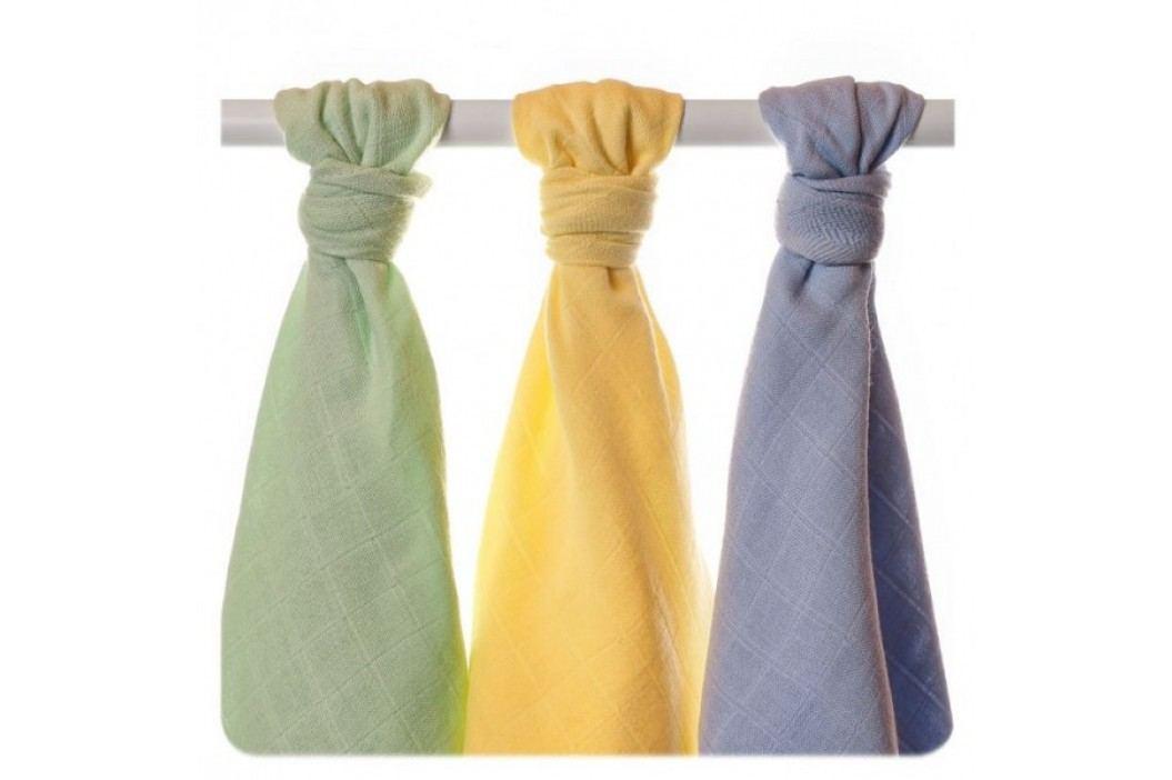 XKKO Ręczniki tetrowe z bawełny Organic XKKO 90x100cm (3 szt.), Pastels Chłopiec Ręczniki