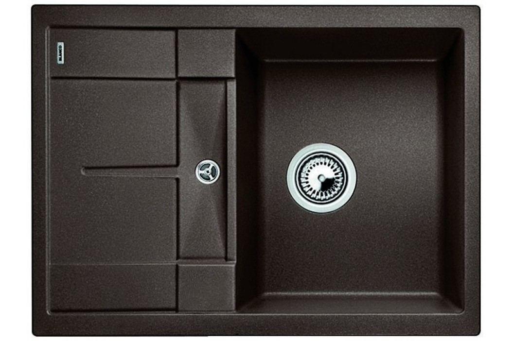 BLANCO zlewozmywak granitowy Metra 45 S Compact Silgranit, kawowy (519570) Granitowe