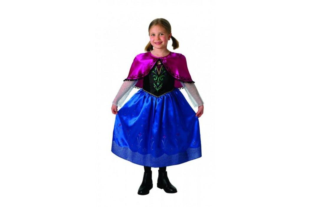 Rubie's Kostium Frozen Anna Deluxe M Kostiumy dziecięce