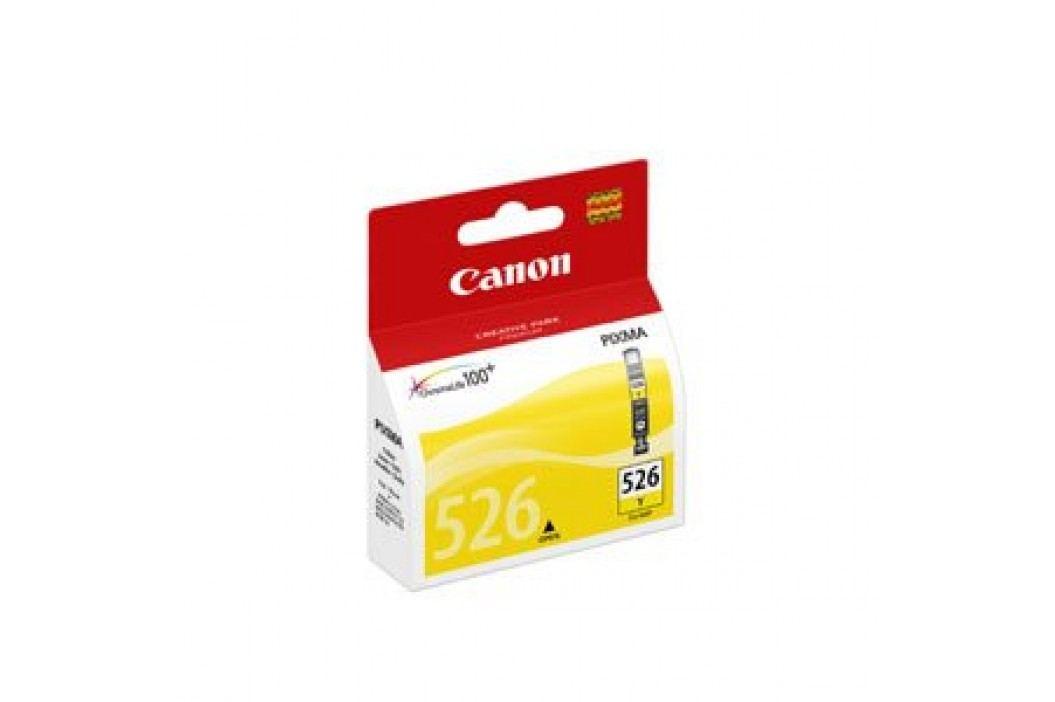 Canon tusz CLI-526 Yellow Materiały eksploatacyjne