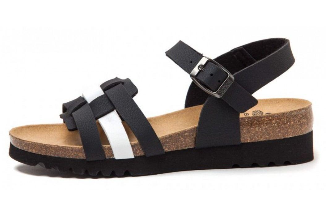 Scholl sandały damskie Mirke 36 czarny Obuwie