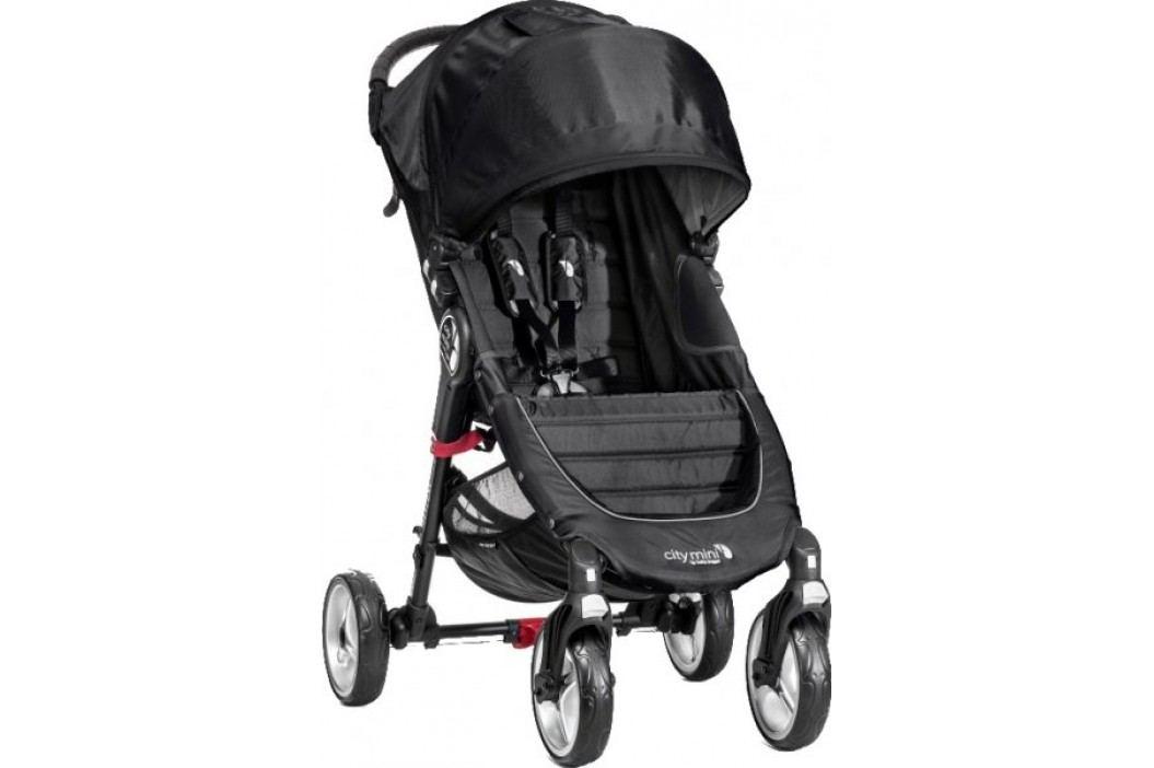 Baby Jogger City Mini - 4 koła, Black/Grey Wózki sportowe