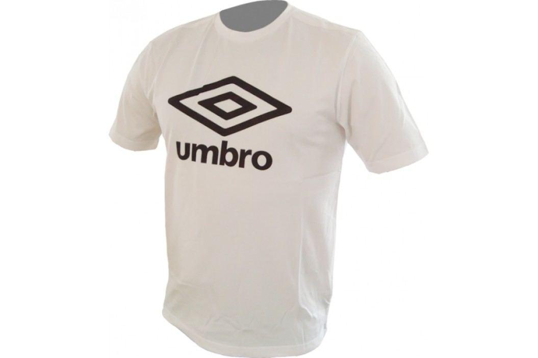 Umbro koszulka Lrg Logo Whit/Black S/170 Koszulki miejskie, rekreacyjne