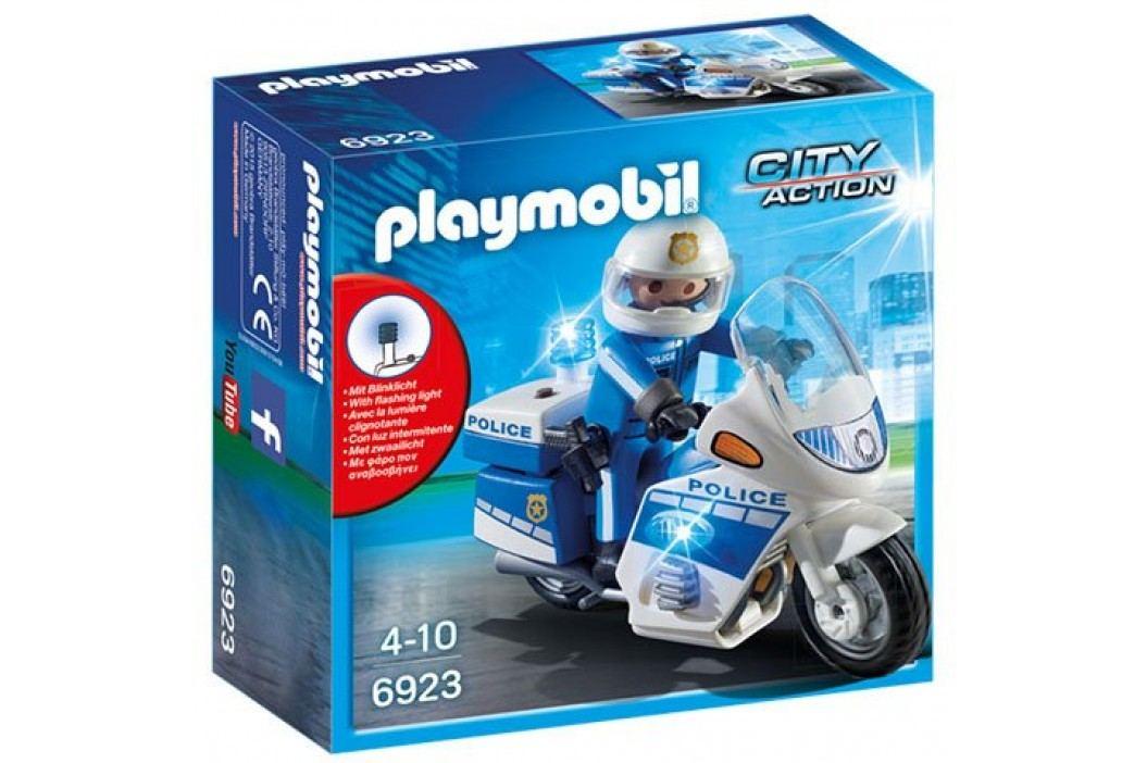 Playmobil Motor Policyjny ze światłem LED 6923 Playmobil