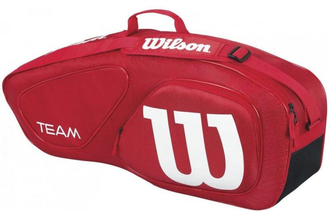 Wilson torba tenisowa Team II 3Pk Bag Red Torby