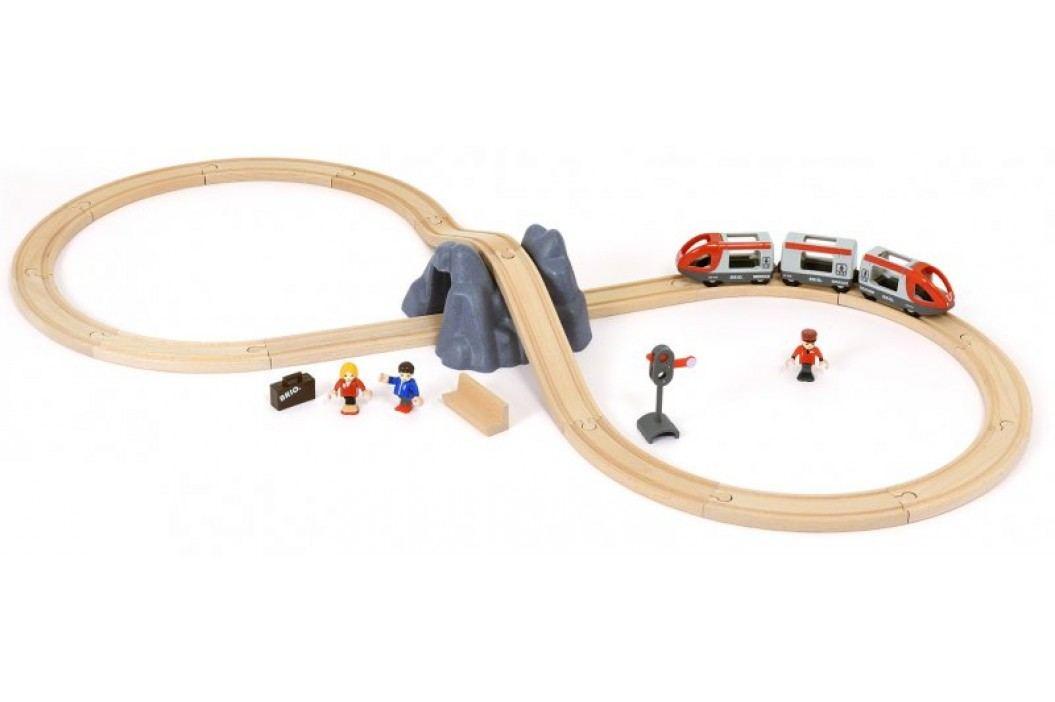 Brio Kolejka z pociągiem i tunelem 33773 Kolejki, lokomotywy