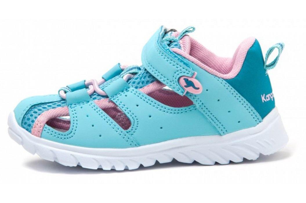 KangaROOS sandały dziewczęce Rock lite 24 niebieski Obuwie