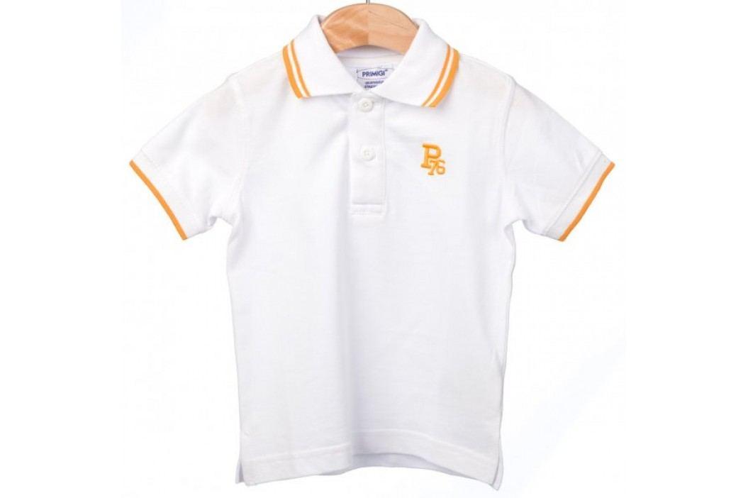 Primigi koszulka polo chłopięca 98 biały Koszulki