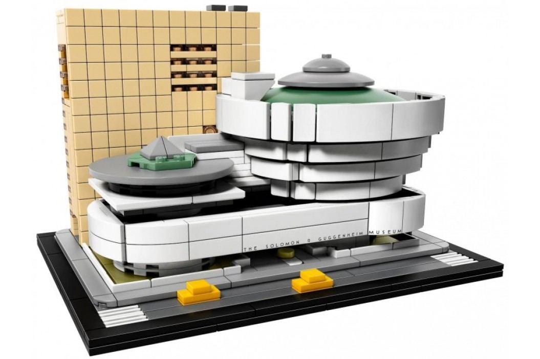 LEGO® Architecture 21035 Muzeum Solomona R. Guggenheima LEGO® Architecture