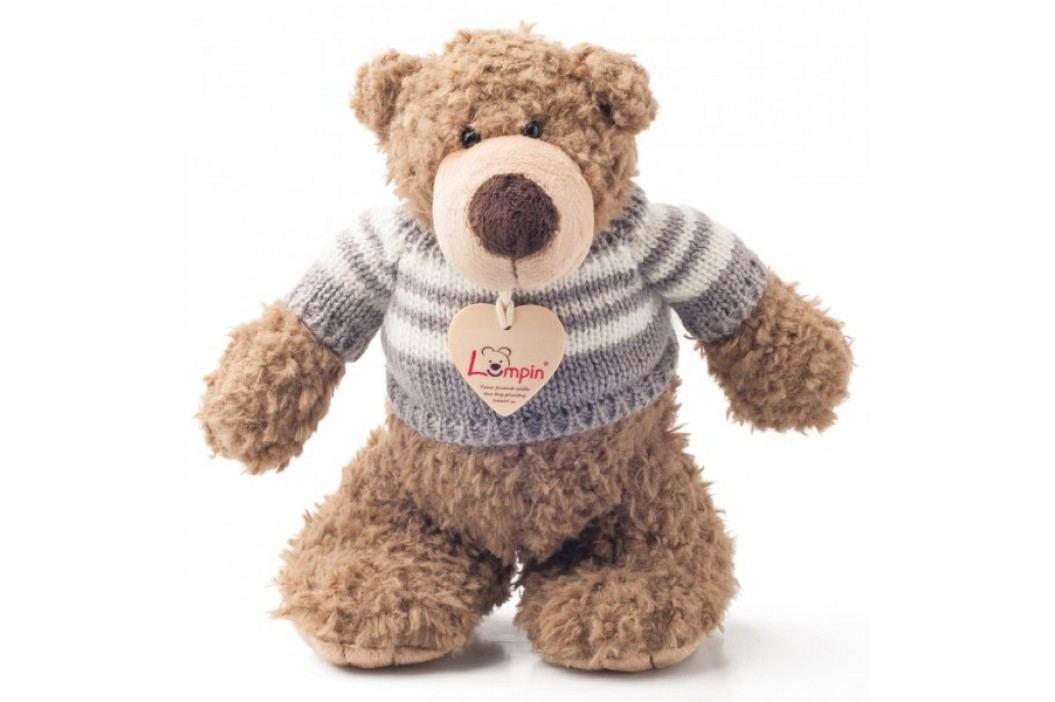 Lumpin Miś Denis w swetrze 22 cm Pluszowe zabawki