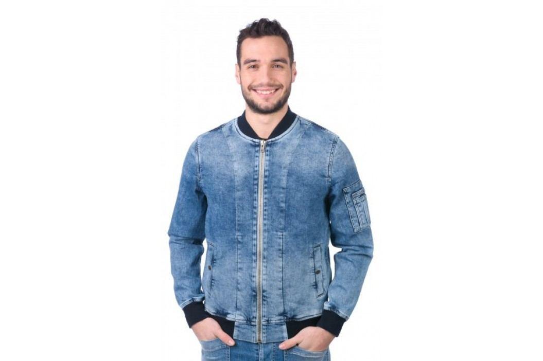 Pepe Jeans kurtka męska Teddy M niebieski Kurtki, płaszcze