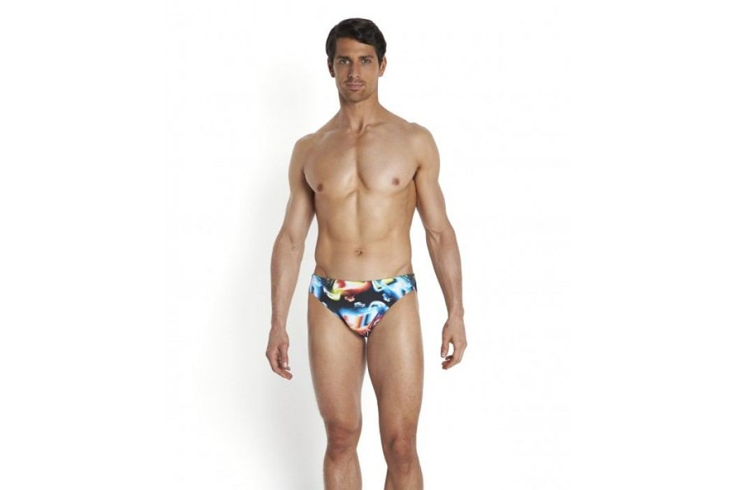 Speedo kąpielówki Allover Digital 5cm Brief Print 24 75 cm Stroje kąpielowe