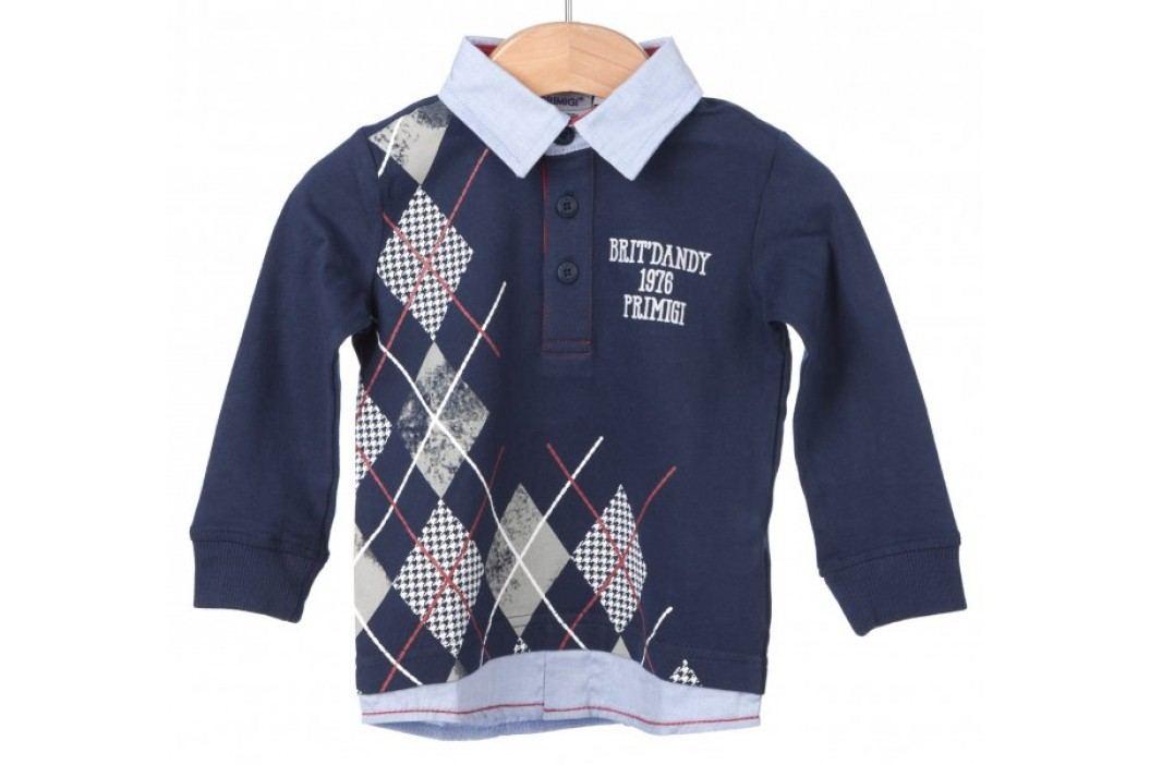 Primigi koszulka polo chłopięca 74 niebieski Koszulki