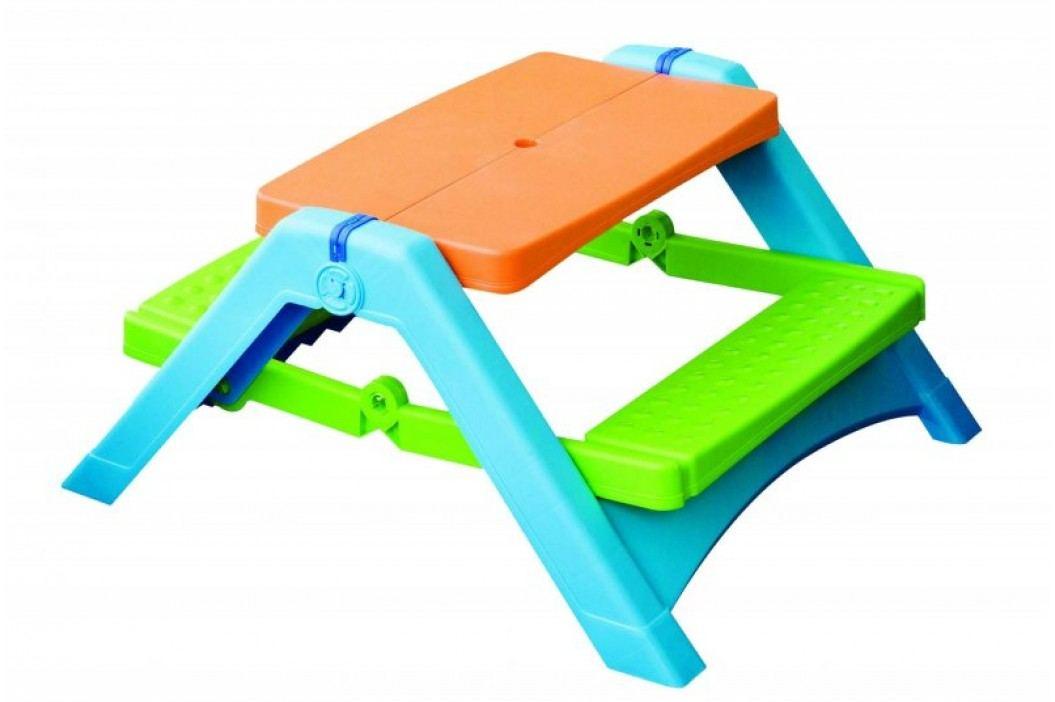 Marian Plast Składany stolik z ławkami Meble dla dzieci