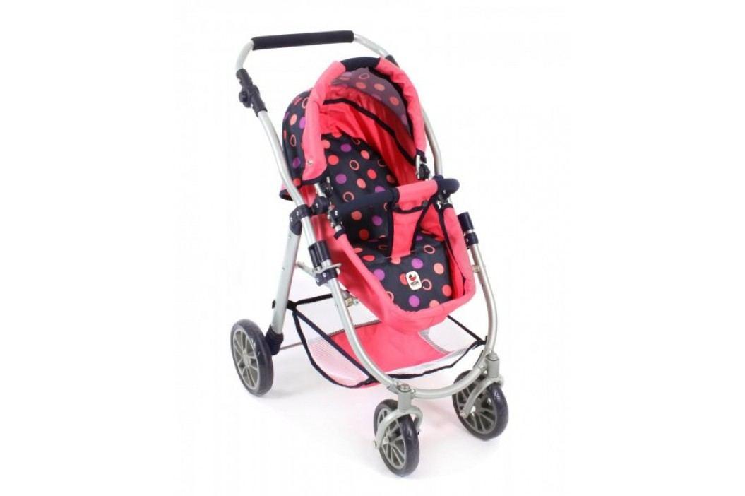 Bayer Chic Wózek dla lalek Emilia 3w1 czerwony Wózki dla lalek