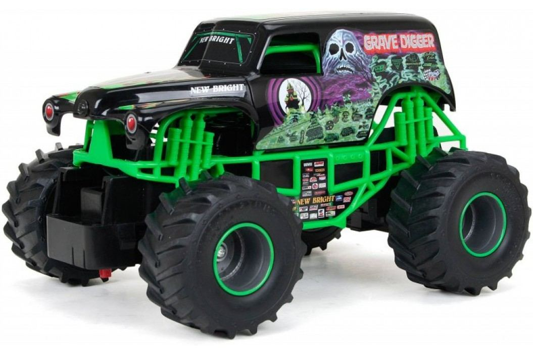 Alltoys RC auto Monster - Grave Digger Modele RC