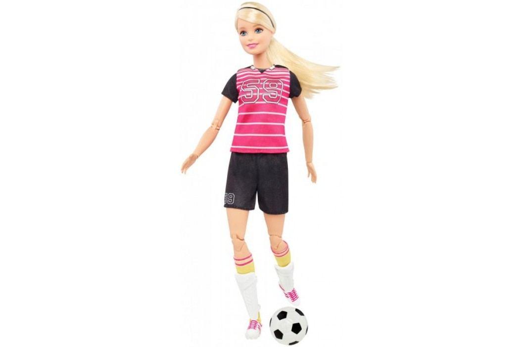 Mattel Barbie Sportowe lalki Piłkarka DVF69 Barbie