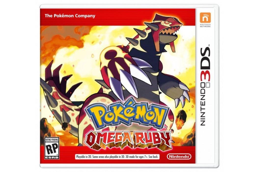 Nintendo gra Pokemon Omega Ruby na konsolę Nintendo 3DS Gry na konsole