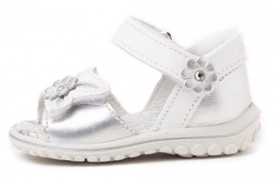 Primigi sandały dziewczęce 19 srebrny Obuwie