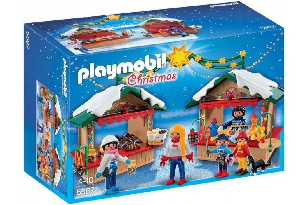 Playmobil 5587 Na jarmarku bożonarodzeniowym Playmobil