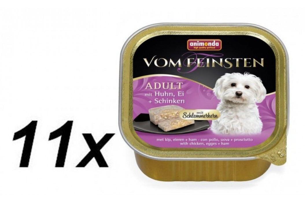 Animonda mokra karma dla psa V.Feinsten, kurczak, jajko i szynka 11 x 150g Konserwy