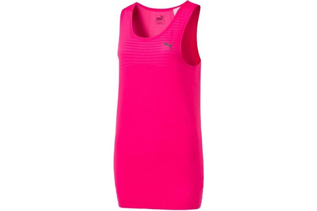 Puma koszulka sportowa evoKNIT Tank W Knockout Pink S Koszulki biegowe, fitness
