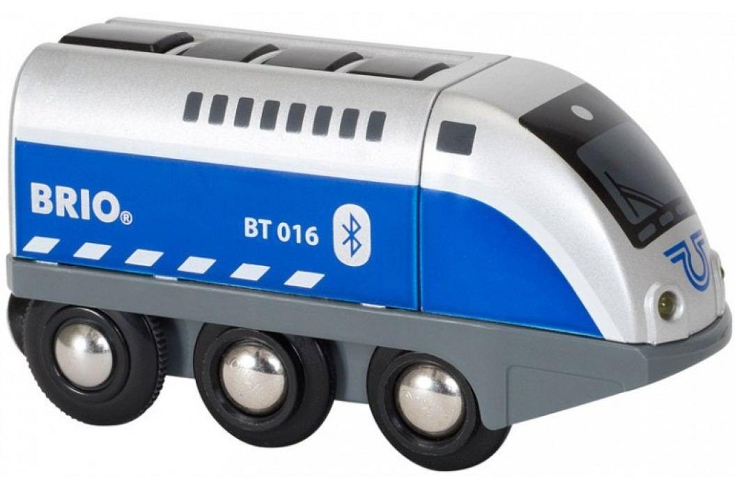 Brio Sterowana lokomotywa na baterie 33863 Niebieski Oscar Kolejki, lokomotywy