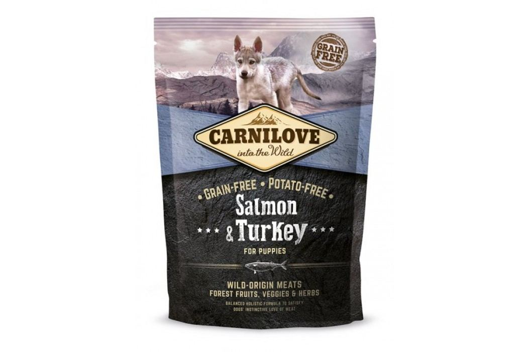 Carnilove Salmon & Turkey for Puppies 1,5 kg Karma sucha