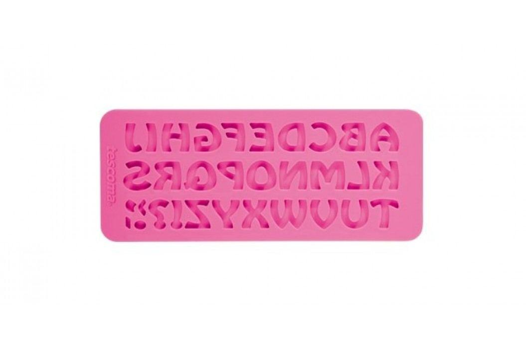 Tescoma Foremka Delicia Deco Alfabet, różowa Pieczenie
