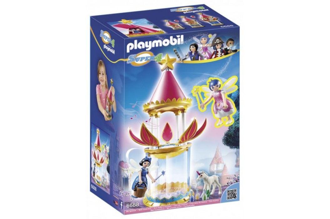 Playmobil Muzykująca kwiatowa wieża z Iskierką i Donellą 6688 Playmobil