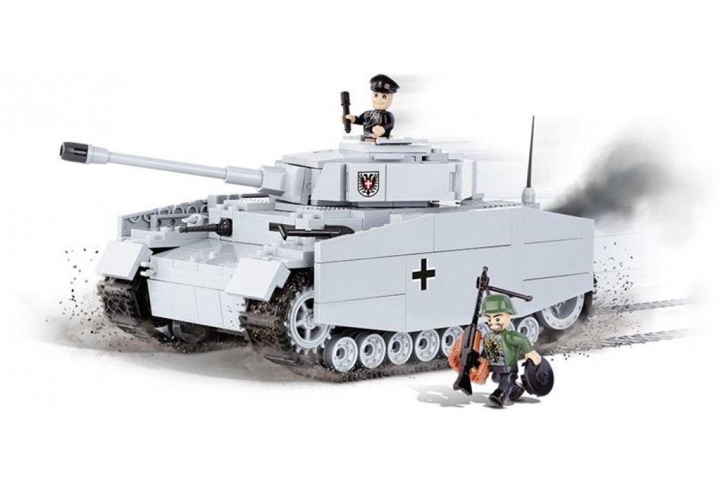 Cobi SMALL ARMY Panzer IV ausf. F1/G/H - niemiecki czołg średni 2481 Pozostałe zestawy