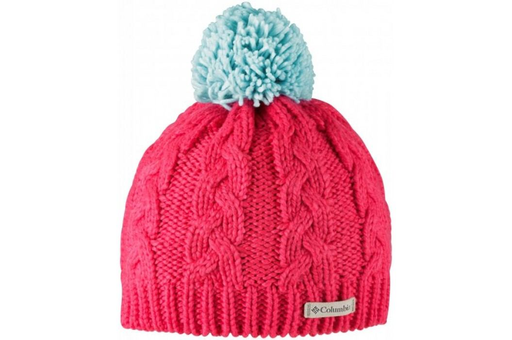 COLUMBIA czapka In-Bounds Beanie Red Camellia Spray OS Czapki