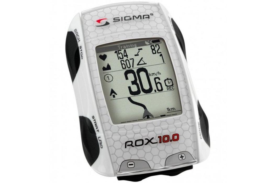 Sigma ROX 10.0 GPS Basic white Liczniki rowerowe