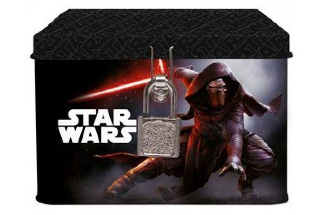Karton P+P Blaszane pudełko / skarbonka na kluczyk, Star Wars Akcesoria szkolne