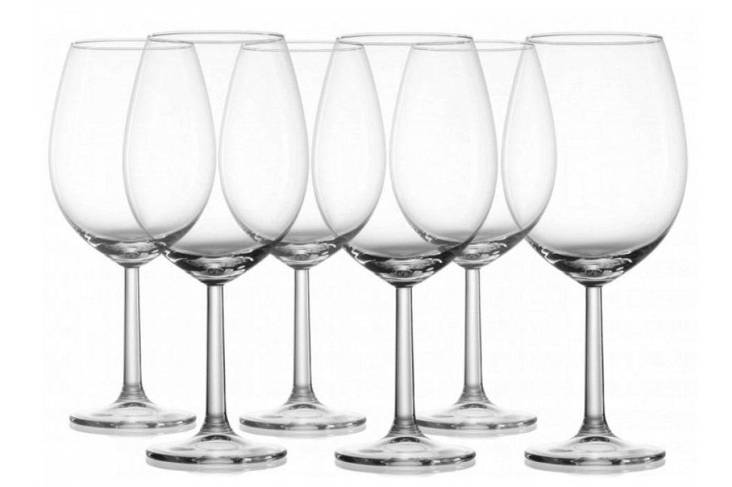 Ritzenhoff&Brecker Kieliszki szklane na Burgundie 6 szt. Szklanki, kieliszki