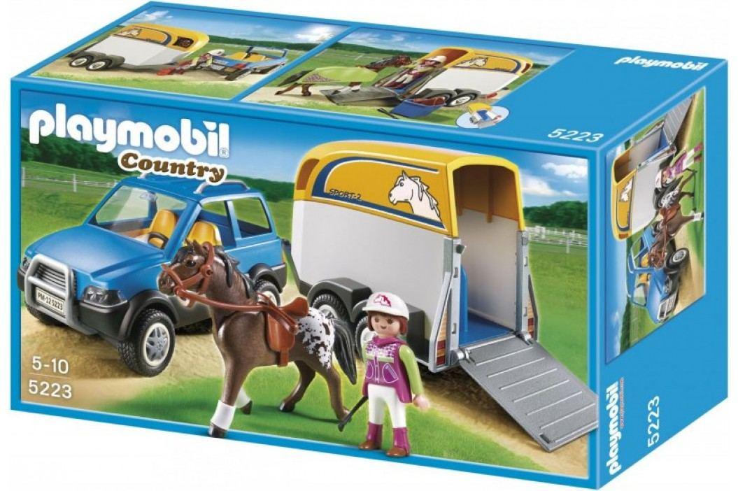 Playmobil 5223 Samochód z przyczepą dla koni Playmobil