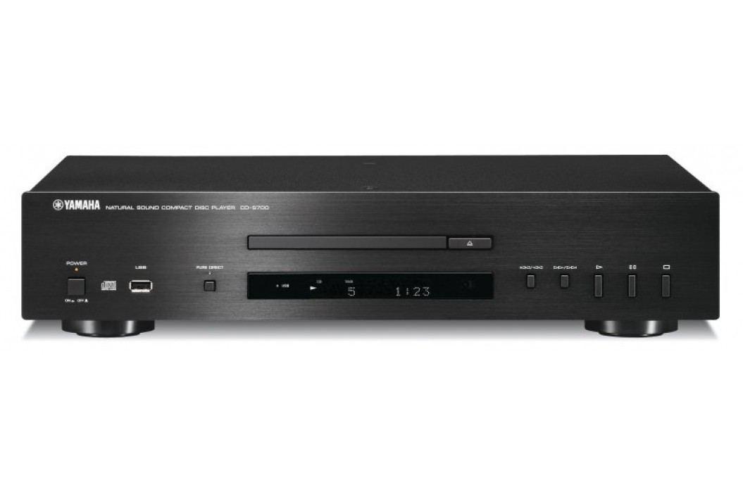 Yamaha odtwarzacz CD CD-S700, czarny Odtwarzacze CD