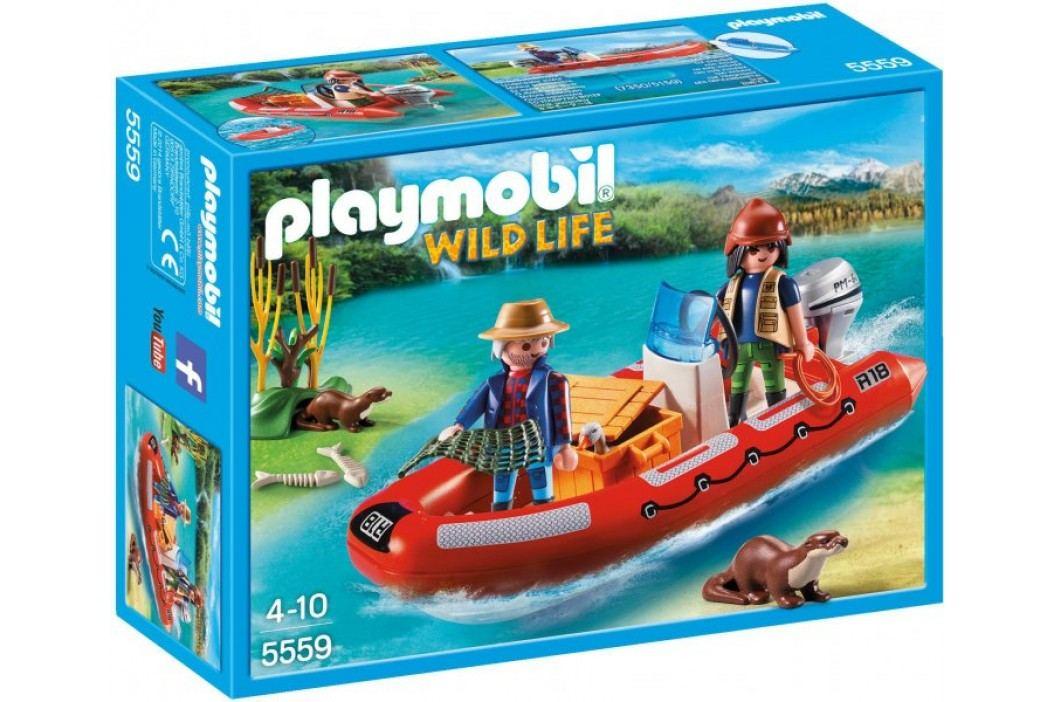 Playmobil Łódź pontonowa z kłusownikami 5559 Playmobil