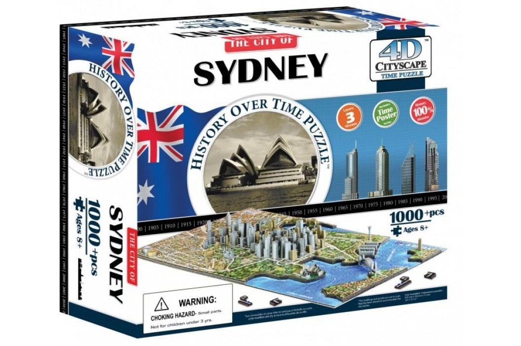 4D Cityscape Puzzle 4D Cityscape Sydney Puzzle