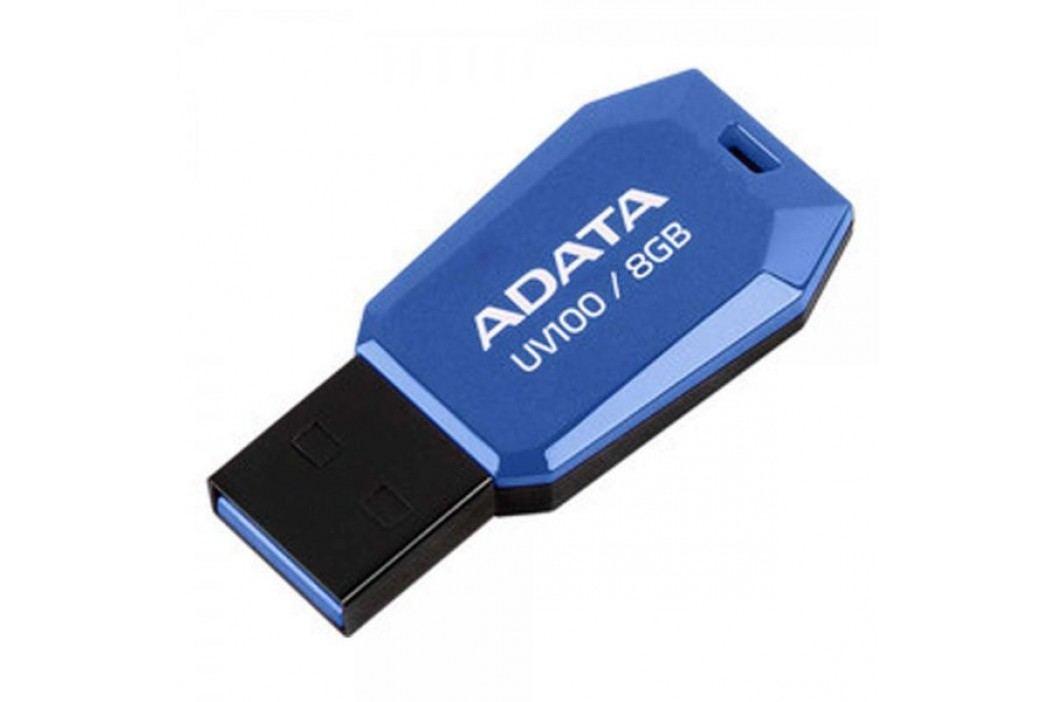 A-Data UV100 8GB, USB 2.0 DashDrive, niebieski Pamięci USB