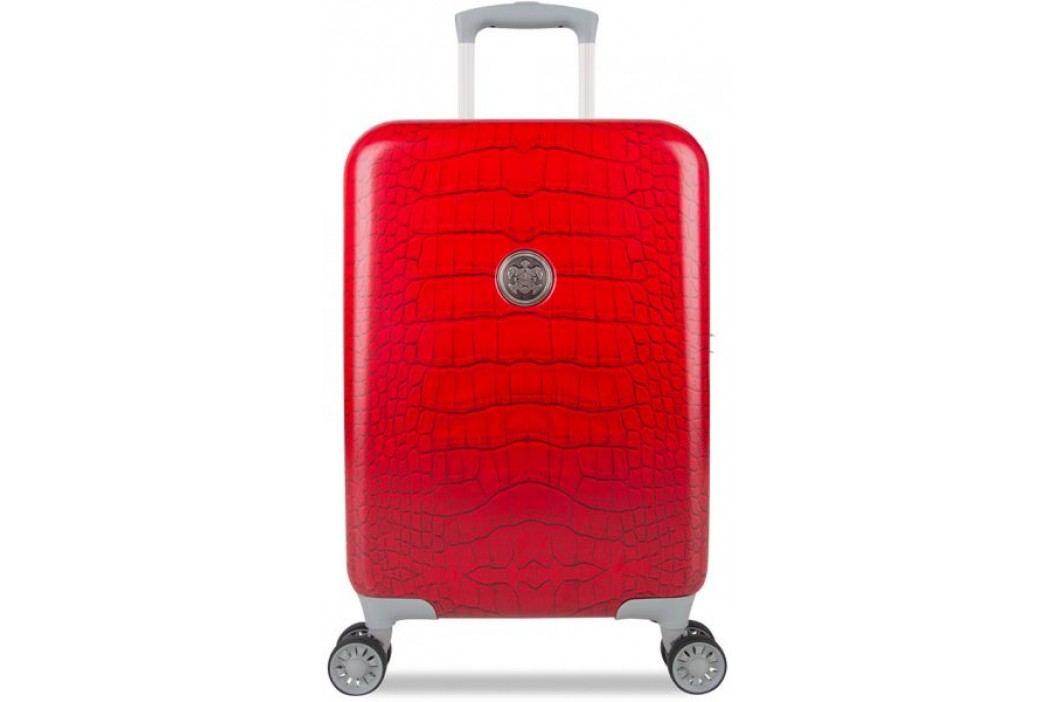 SuitSuit Walizka Red Diamond Crocodile S Bagaż podręczny