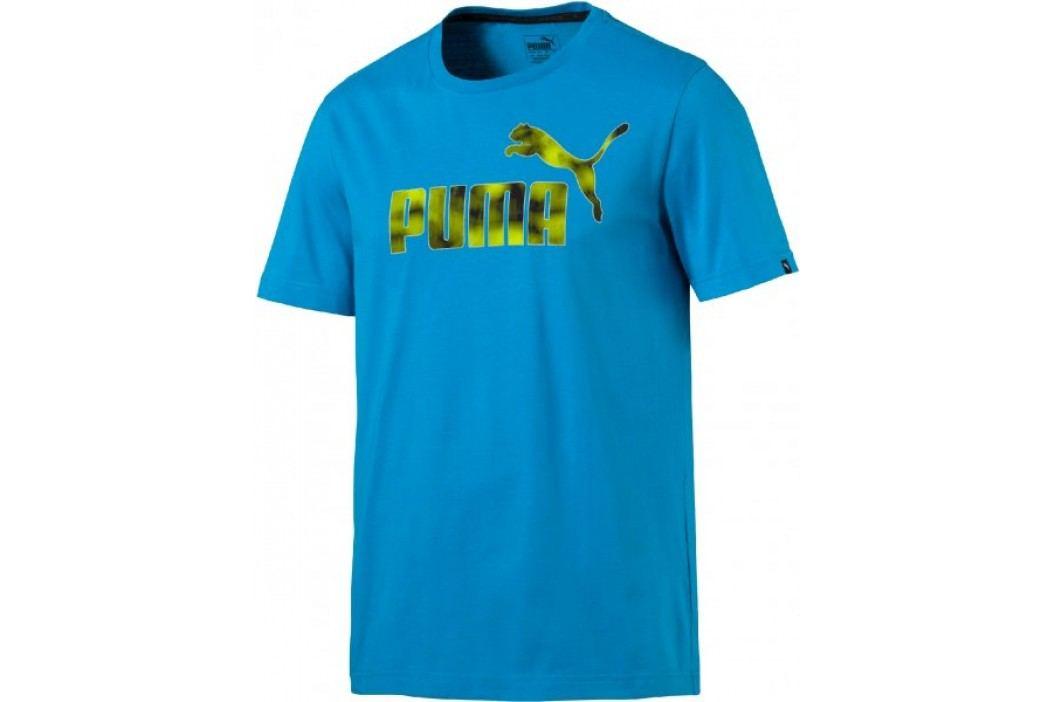 Puma koszulka sportowa Hero Tee Blue Danube S Koszulki miejskie, rekreacyjne