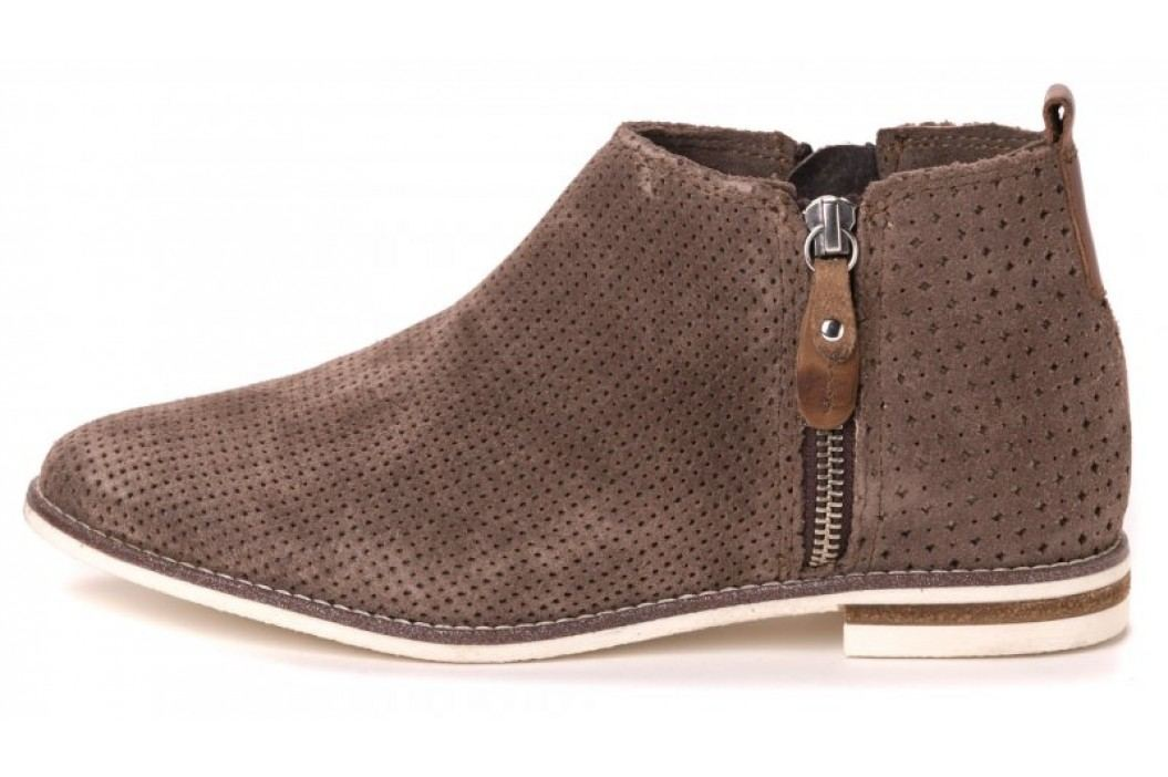 Klondike buty za kostkę damskie 37 brązowy Obuwie