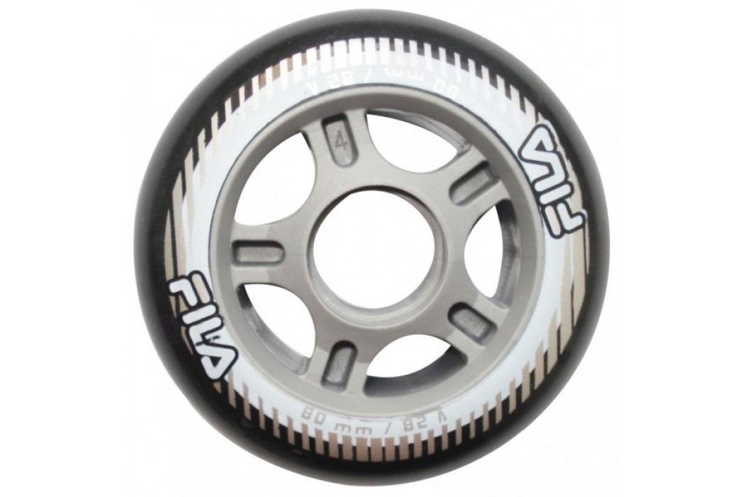 FILA 80mm/82A Wheels Black Kółka, łożyska