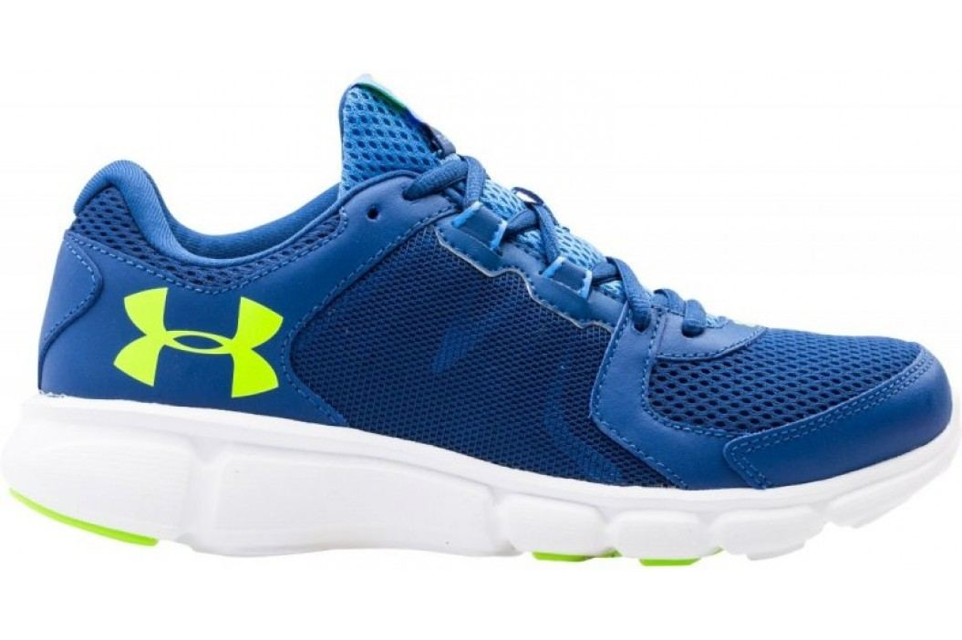 Under Armour W Thrill 2 Heron White Lime Light 38 (7) Obuwie biegowe, fitness