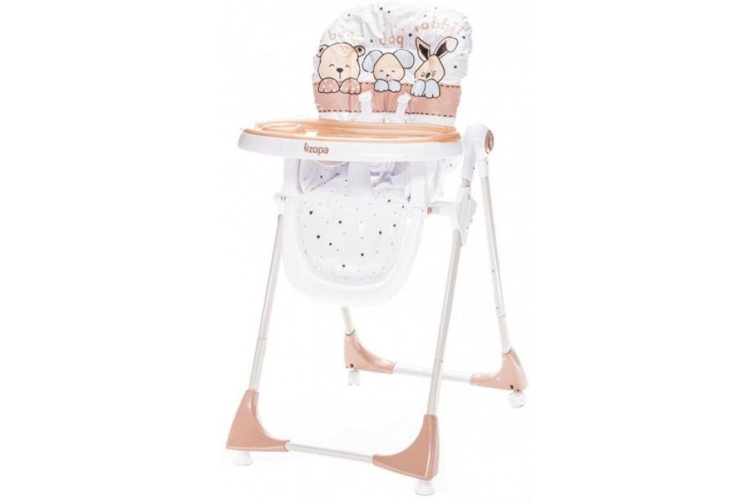 ZOPA Krzesełko do karmienia MONTI, Animal Beige Krzesełka do karmienia