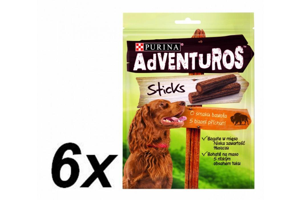 Purina przysmak dla psa ADVENTUROS Sticks 6 x 120g Przysmaki