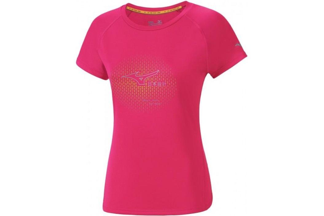 Mizuno koszulka sportowa Core Graphic Tee Diva Pink XL Koszulki biegowe, fitness